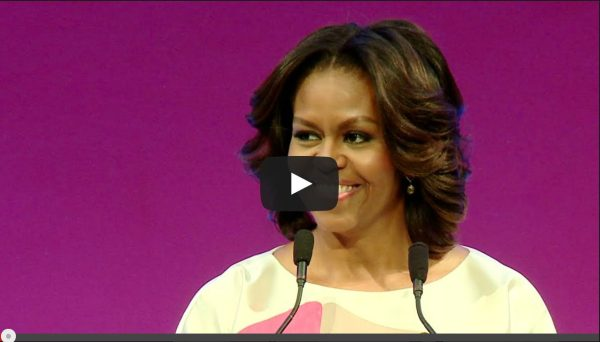 VIDEO: U.S. First Lady Michelle Obama's take on Study Abroad