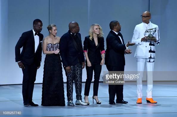 Sterling K. Brown, Kristen Bell, Tituss Burgess, Kate McKinnon Kenan Thompson RuPAul, 2018 Emmys