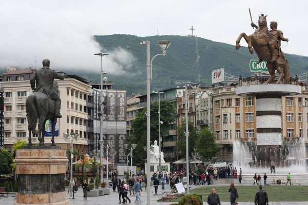 Food Traditions Fall in Skopje, Macedonia