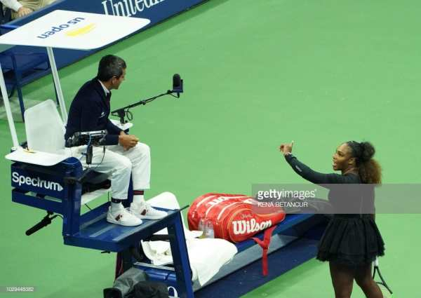 Serena Williams, Carlos Ramos, Yelling, US Open
