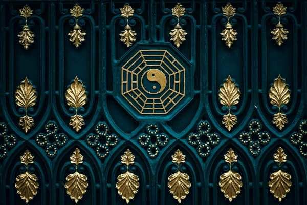 yin-yang door