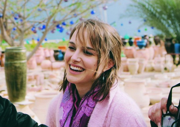Natalie Portman smiling in 2005