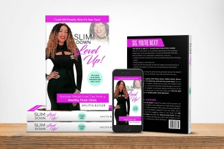Slim Down Level Up Book Cover