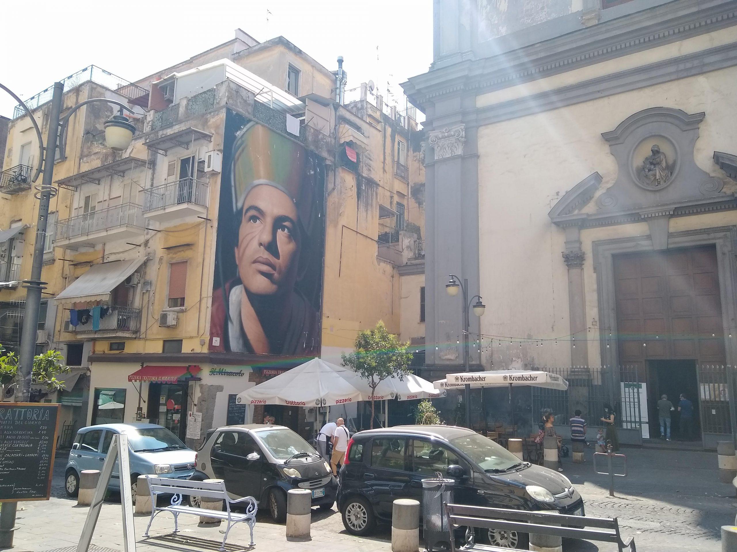 San Gennaro, by Jorit