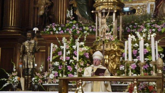 mgr Carlo Osoro Sierra, aartsbisschop van Madrid