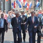 Oudewater Koning Willem-Alexander tijdens haar 750e verjaardagsfeest
