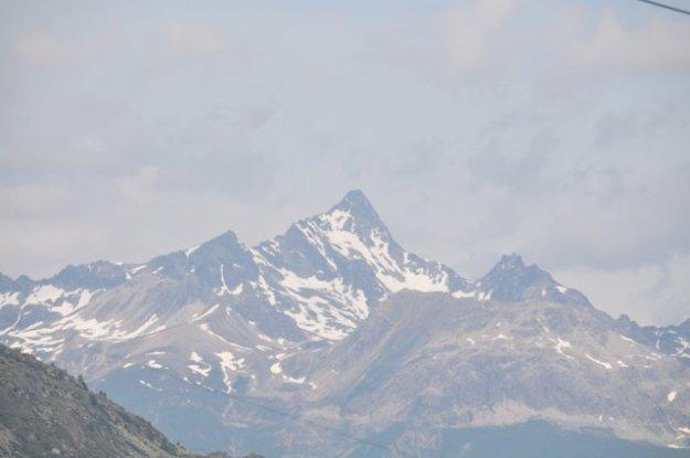 langs de Glacierbahn