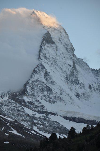 Zwitserland, Matterhorn in Zermatt