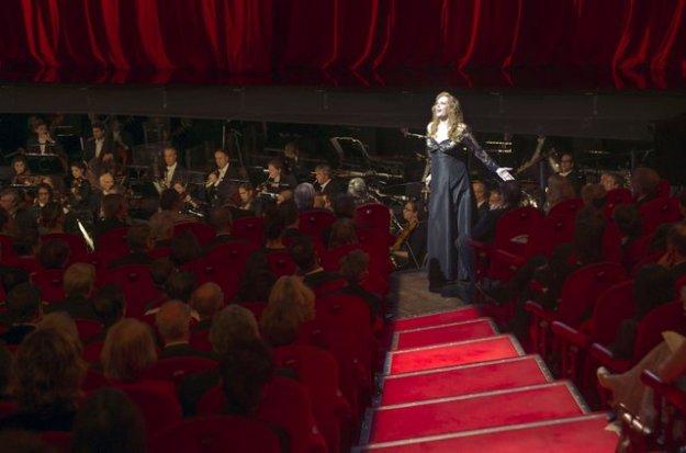 Eva-Maria Westbroek - 'Dich teure Halle' uit Tannhäuser - Nederland, Amsterdam, 07-11-2015. De Nationale Opera, Gala 50 jaar.