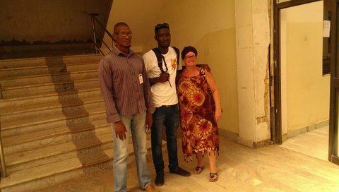 Bakary en LM volgden na de Jamisa Scool ICT bij mr