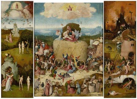 Hooiwagen_The Hay Wain_open_Madrid, Museo Nacional del Prado_LR