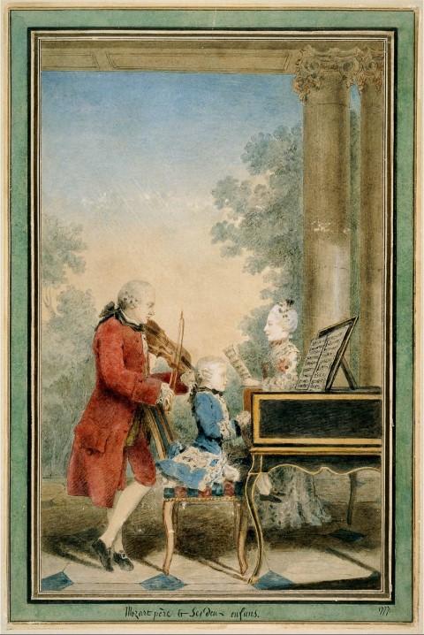 Mozartfestival: als jongetje van 7 jaar speelde Mozart in Haarlem