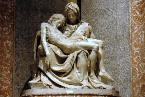 Rome: de pieta van Michel Angelo