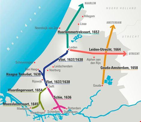 Haagsche Trekvliet en andere Vlieten waarvoor VRW zich inzet