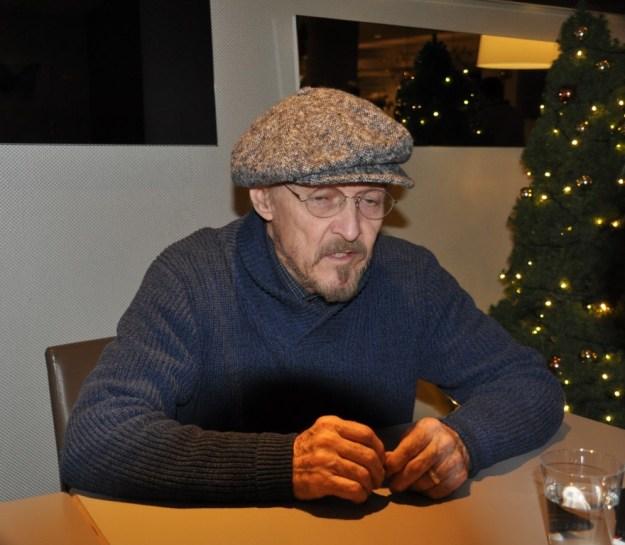 enkele dagen voor kerst 2016 sorak Marianne Visser van KLaarwayer in het Novotel van den Haag op 21 december met Ted Neeley, hoofdrolspeler JC Superstar.