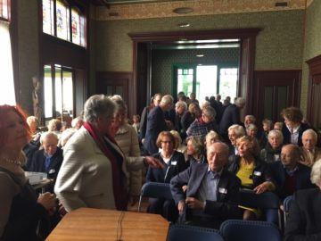 in het bisschopshuis , Dagje uit in Haarlem