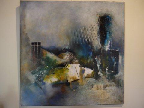 Haspengouw, schilderwerk van Gerard Mergeay