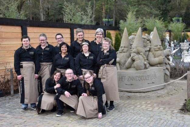 De Beeldentuin in Garderen; team Rozentuin