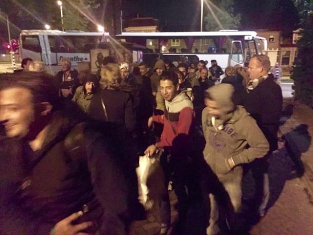vluchtelingen in Haarlem.