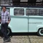 Antwerpen ontdekken in een oldtimer met Jamil Valckx van  Voyage Local
