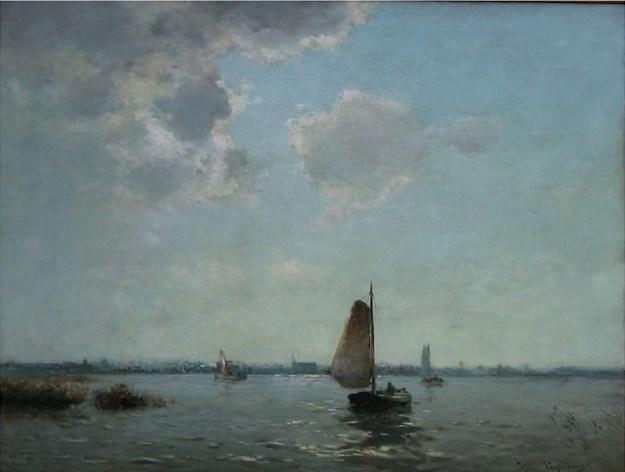 Nieuwkoop, galerie Rijlaarsdam, Jan Weissenbruch, waterlandschap