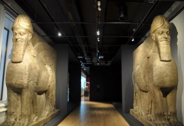 Lamassus,,''Niniveh, hoofdstad van een wereldrijk'', Rijksmuseum van Oudheden t/m 25 maart 2018