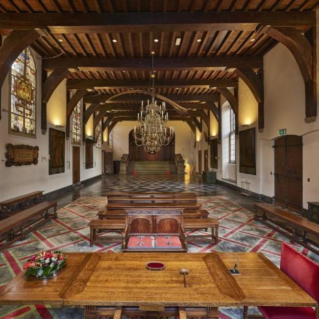 Cultuurstad aan het Spaarne, de Gravenzaal van het Stadhuis van Haarlem