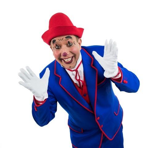Haagse Kerstcircus 2017, Clown Frenky