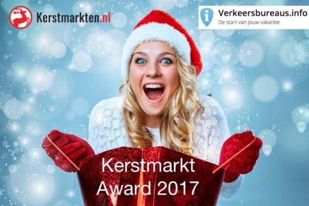 Kerstmarkt Award 2017, een initiatief van kerstmarkten.nl en verkeersbureaus.info