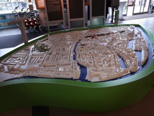 Maquette in Entree Dordrecht