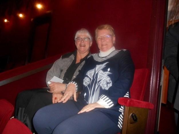 10 jaar Haarlem, 2010: Samen met Ineke in de loge van Koninklijk Theater Carré