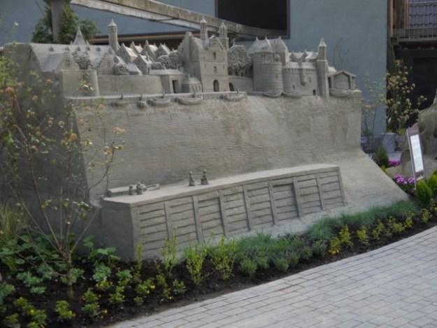't Veluws Zandsculpturenfestijn, Delft, een 3D kunstwerk van Sikke-Bart Ferieling