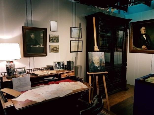 100 jaar Zuiderzeewet: het bureau van ing. Lely, Museum Nieuw Land, Lelystad