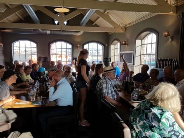 Als slot van het 63e Hollandia Evenement van Promotie Recreatie En Toerisme genoten we in restaurant Fortezza van een lekker diner