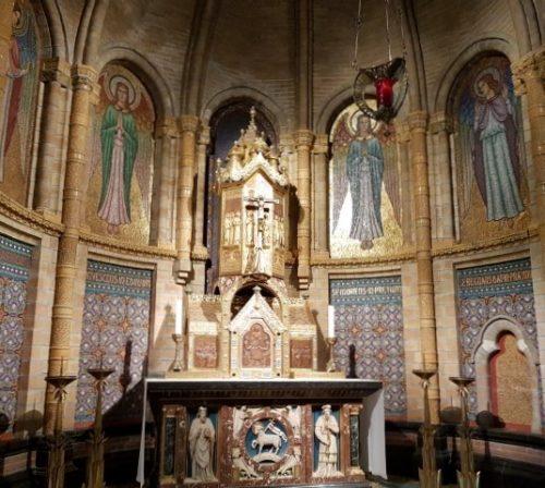 Kathedrale Basiliek sint Bavo, zij-altaar