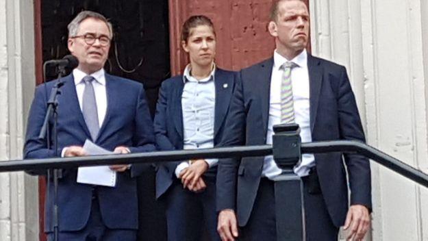 Burgemeester Jos Wienen: ''Jullie massale opkomst geef de burger, in dit geval de burgemeester, moed''