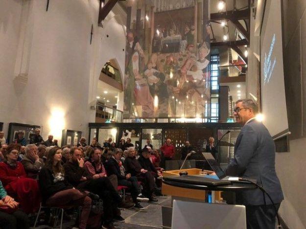 Kloosterstad Haarlem stond centraal tijdens presentatie stadsklooster Haarlem in de Janskerk op 28 oktober 2018