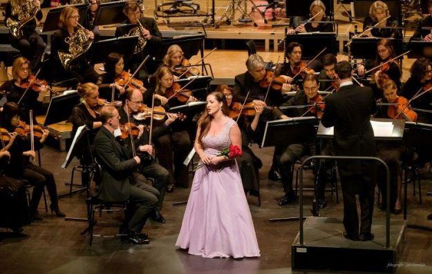 Jeannette van Schaik en Residentie Orkest, Nieuwjaarsconcert 5 januari 2019, Zuiderstrandtheater, foto Jan Hordijk
