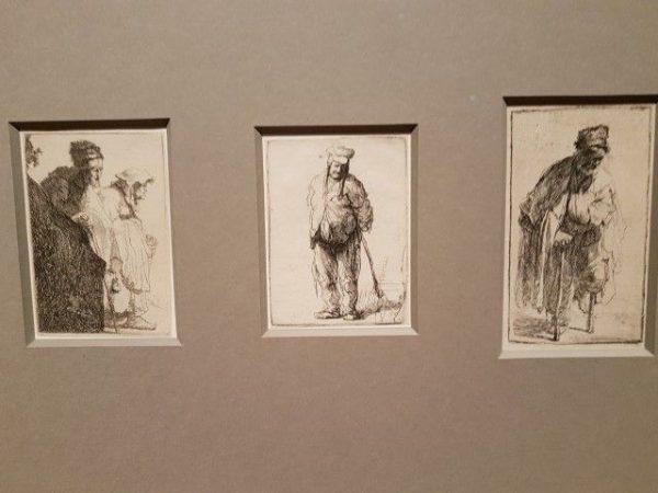 Expositie Alle Rembrandts, Rembrandt leven op straat