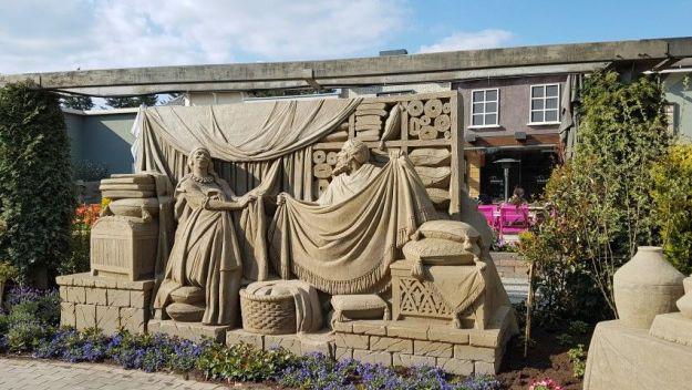 11e zandsculpturenfestijn Garderen
