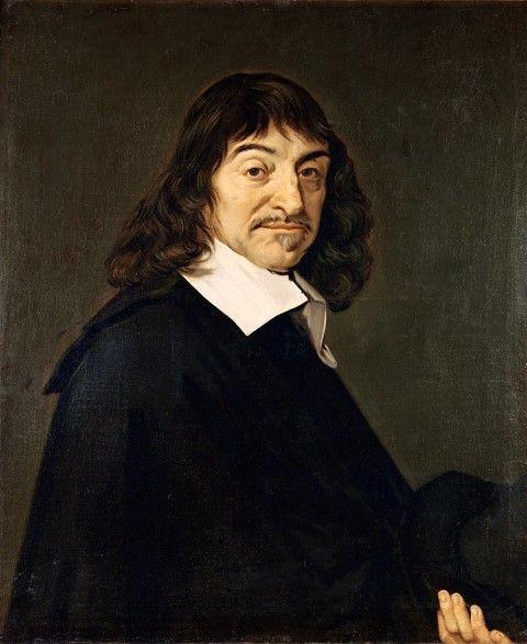 Frans Hals, portret van René Descartes_