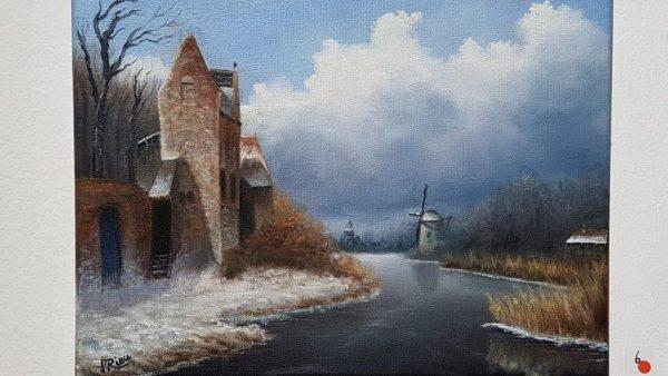 Marc Rieu, Leickert's Love, 24 x 30 cm