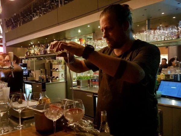 Cocktailmaker Arjan Kleton
