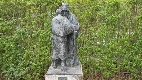 Bijbelse tuin Hoofddorp, de verloren zoon, Karel Gomes