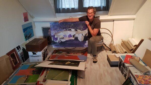 Veteranen en kunst Frans Janssen