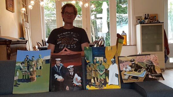Veteranen en kunst, Frans Janssen militairen en dieren