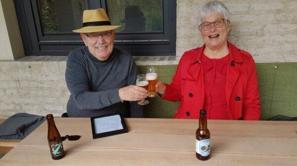 In de Nonnerie van buitenplaats Doornburgh schenken ze bieren van brouwerij De Vecht en van De Leckere