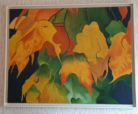 Hoogbegaafdheidscoach Karin van Toor heeft schilderen als hobby