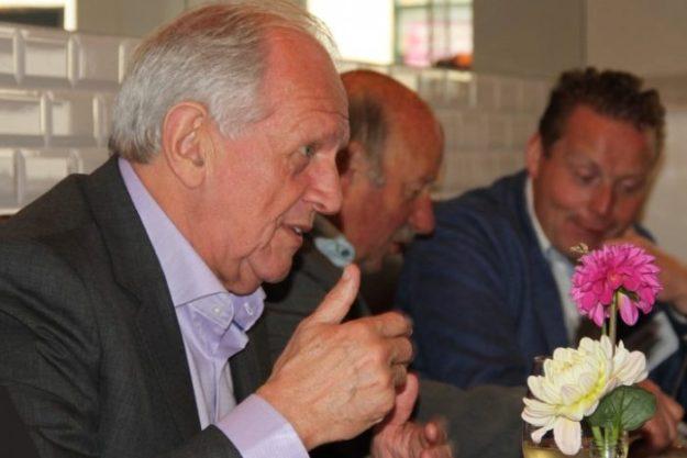 Boudewijn Leeuwenburgh in vergadering
