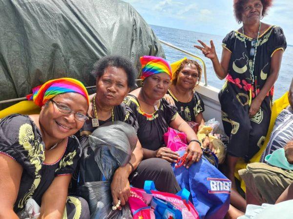 Op weg naar Kavieng